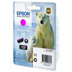Картридж Epson 26 XP600/7/8 Magenta/Пурпурный (C13T26134010)