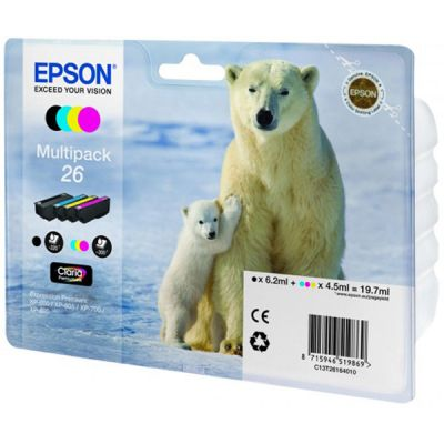 �������� Epson �������� XP600/7/8 XL multipack C13T26364010