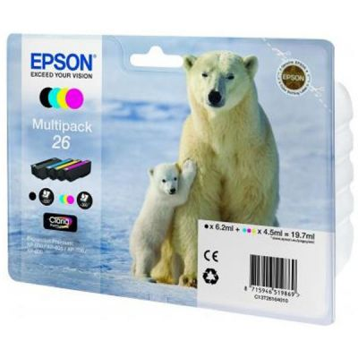 �������� Epson �������� XP600/7/8 multipack C13T26164010