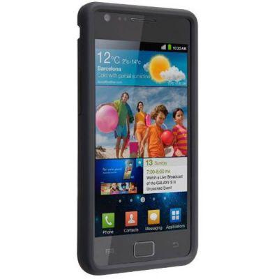 ����� CaseMate Safe Skin ��� Samsung Galaxy S2 Black (CM015699)