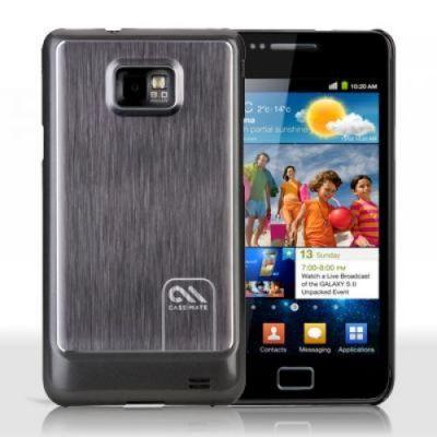 ����� CaseMate BT Alu. Samsung Galaxy S 2 Silver (CM016416)