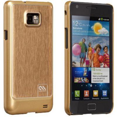 ����� CaseMate BT Alu. ��� Samsung Galaxy S II Gold (CM018593)