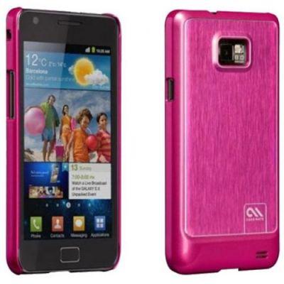 Чехол CaseMate BT Alu. для Samsung Galaxy S II Pink (CM018595)