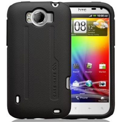 Чехол CaseMate Tough для HTC Sensation XL Black (CM017096)