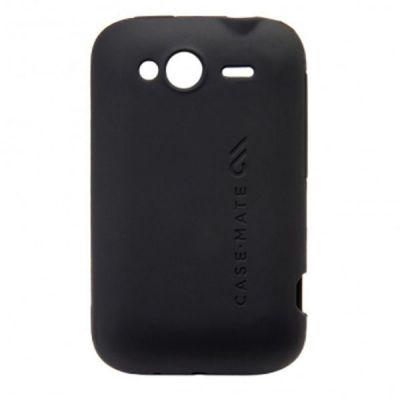 Чехол CaseMate Safe Skin для HTC Wildfire S Black (CM015066)