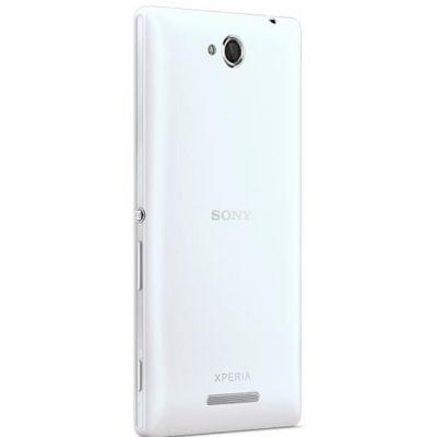 Смартфон Sony Xperia C White (C2305)