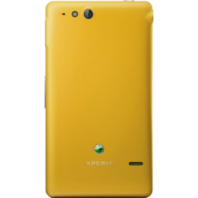 Смартфон Sony Xperia go Yellow (ST27i)