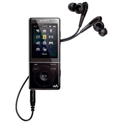 Аудиоплеер Sony NWZ-E574 Black
