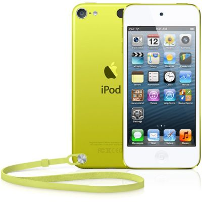 Аудиоплеер Apple iPod touch 5 32GB - Yellow MD714RP/A