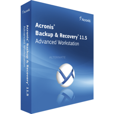 ����������� ����������� Acronis Backup & Recovery 11.5 Advanced Workstation (Electron)