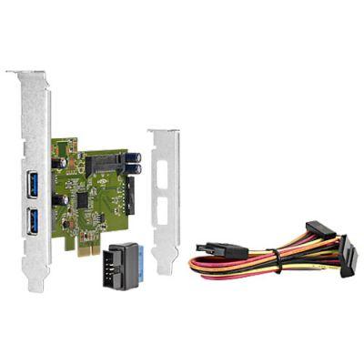 HP 4-портовая плата HP USB 3.0 SuperSpeed PCIe x1 QT587AA