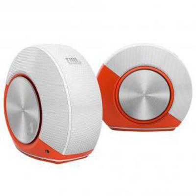 Акустическая система JBL Pebbles Orange/White JBLPEBBLESORGEU