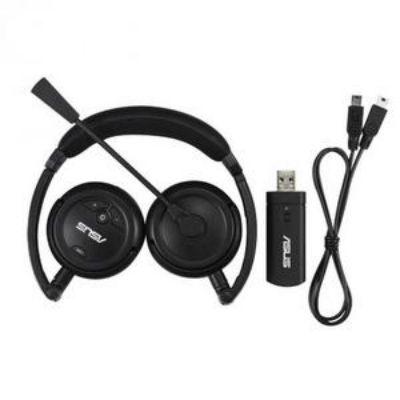 �������� ASUS ��������� Wireless Headset HS-1000W USB Black RET HS-1000W/1A/UBD+RF/AS