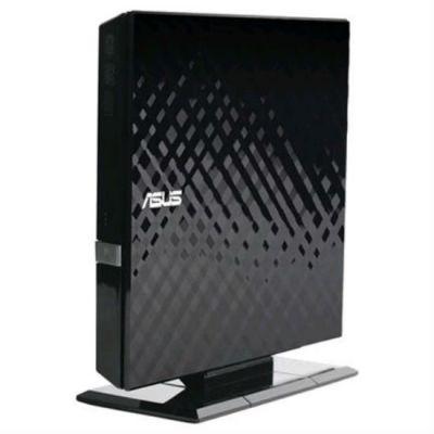 ASUS DVD-RW ext. Black Slim Ret. USB2.0 SDRW-08D2S-U LITE/BLK/G/AS
