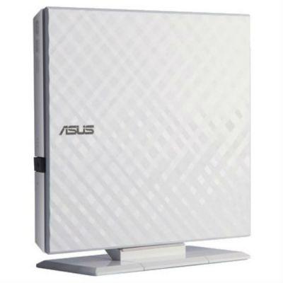 ASUS DVD-RW ext. White Slim Ret. USB2.0 SDRW-08D2S-U LITE/WHT/G/AS