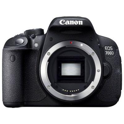 Зеркальный фотоаппарат Canon EOS 700D Body [8596B001]