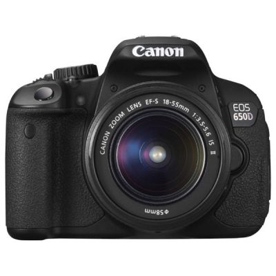 Зеркальный фотоаппарат Canon EOS 650D Kit EF-S 18-55 IS II + EF-S 55-250 IS II [6559B021]