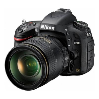 Зеркальный фотоаппарат Nikon D600 Kit AF-S 24-120 4G VR [VBA340K004]