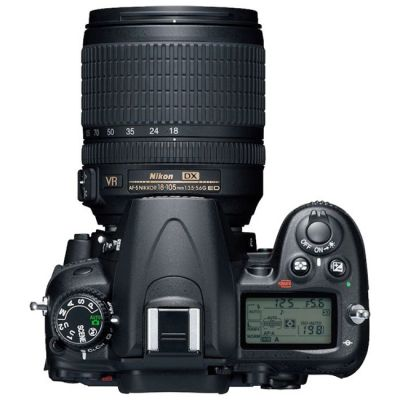 Зеркальный фотоаппарат Nikon D7000 18-105 VR+ EN-EL15+MB-D11 [VBA290KR10]