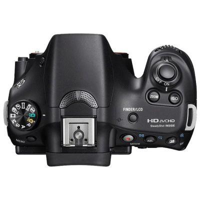 ���������� ����������� Sony Alpha SLT-A58K Kit 18-55 mm F3,5-5,6 (�� Sony) [SLTA58K.CEC]