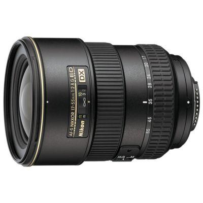 Объектив для фотоаппарата Nikon 17-55mm f/2.8G ED-IF AF-S DX Zoom-Nikkor Nikon F JAA788DA