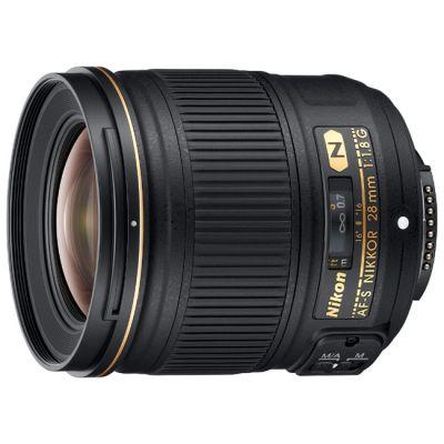 Объектив для фотоаппарата Nikon 28mm f/1.8G AF-S Nikkor JAAA135DA