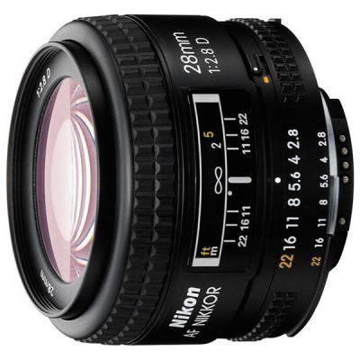 Объектив для фотоаппарата Nikon 28mm f/2.8D Nikkor JAA128DA