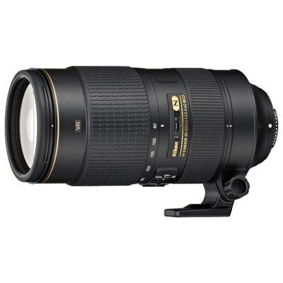 Объектив для фотоаппарата Nikon 80-400mm f/4.5-5.6G ED VR AF-S NIKKOR Nikon F JAA817EA