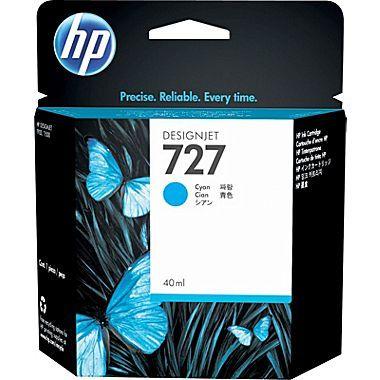Расходный материал HP Картридж HP 40 мл с голубыми чернилами B3P13A