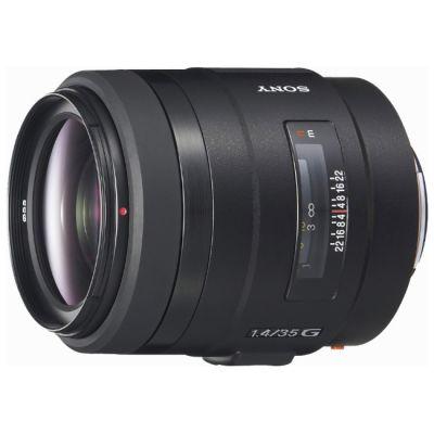 Объектив для фотоаппарата Sony 35mm f/1.4G (ГТ Sony) SAL35F14G