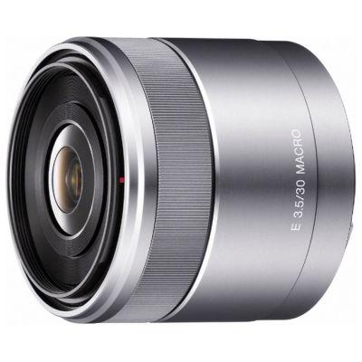Объектив для фотоаппарата Sony 30mm f/3.5 Macro E (ГТ Sony) SEL30M35