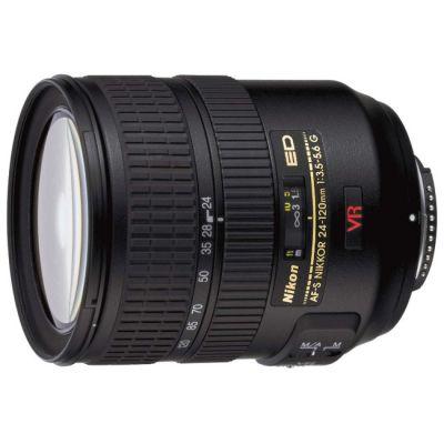 Объектив для фотоаппарата Nikon 24-120mm f/3.5-5.6G ED-IF AF-S VR Zoom-Nikkor Nikon F JAA782DA