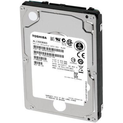 """Жесткий диск Toshiba SAS 900Gb 2.5"""" 10K RPM 64Mb AL13SEB900"""