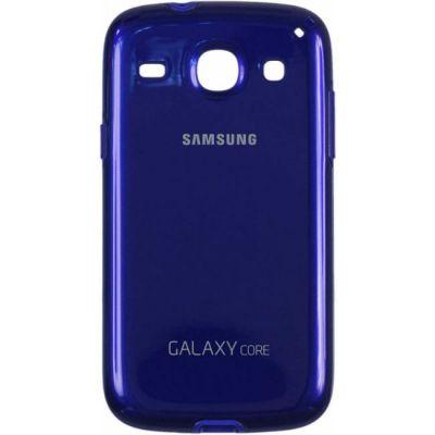 Samsung Задняя крышка Protective Cover+ S2 Duos/I8262 Blue EF-PI826BLEG