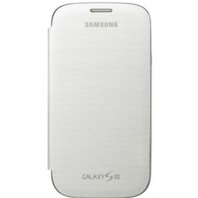 ����� Samsung ��� Samsung Galaxy S3/i9300, Flip Cover, Ceramic White EFC-1G6FWECSER