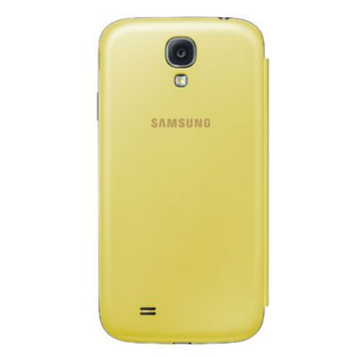 Samsung Чехол-книжка Flip Cover Galaxy S4/I9500 Yellow EF-FI950BYEG