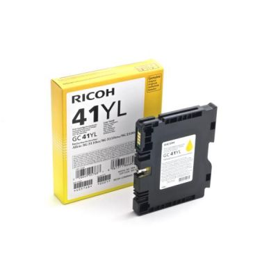 Картридж Ricoh GC41YL Yellow/Желтый (405768)