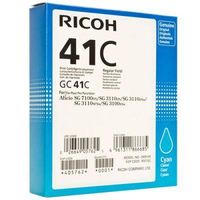 Картридж Ricoh GC41C Cyan /Зеленовато - голубой (405762)