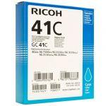 Картридж Ricoh GC41C Cyan/Голубой (405762)