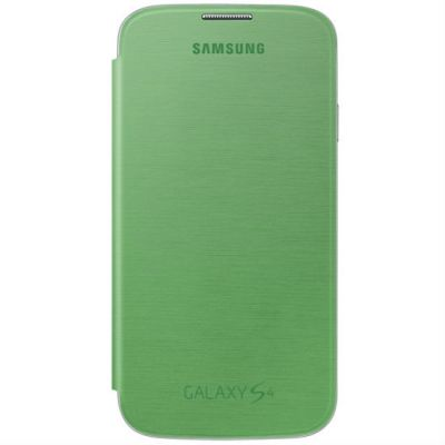 Samsung Чехол-книжка Flip Cover Galaxy S4/I9500 Yellow Green EF-FI950BGEG