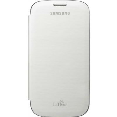 Samsung �����-������ Flip cover S3/i9300 La Fleur White EFC-1G6RWEGSTD