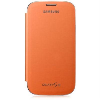 Samsung �����-������ Flip cover S3/i9300 Orange EFC-1G6FOECSER