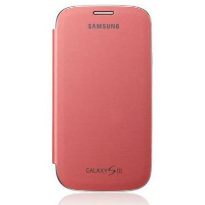 Samsung Чехол-книжка Flip cover S3/i9300 Pink EFC-1G6FPECSER