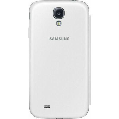 Samsung Чехол-книжка S-View I9500, белый иней EF-CI950BWEG