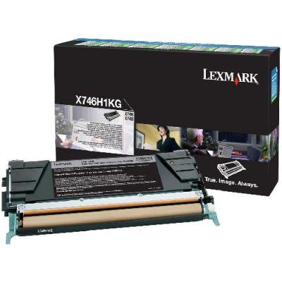 Картридж Lexmark Black/Черный (X746H1KG)