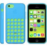 Чехол Apple iPhone 5c Case - Blue MF035ZM/A