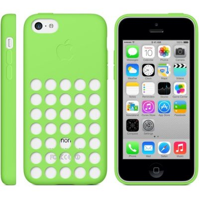 ����� Apple iPhone 5c Case - Green MF037ZM/A
