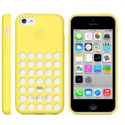 Чехол Apple iPhone 5c Case - Yellow MF038ZM/A