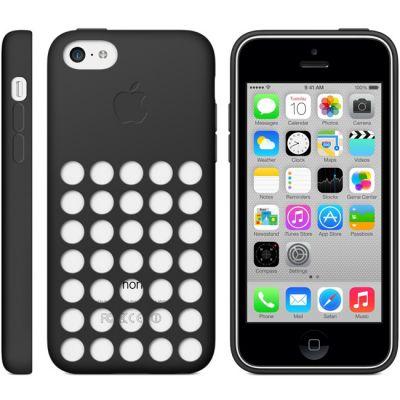 Чехол Apple iPhone 5c Case - Black MF040ZM/A