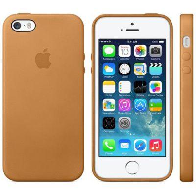 Чехол Apple iPhone 5s Case - Brown MF041ZM/A